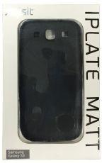 Etui Xqisit iPlate Matt Czarne do Galaxy S3
