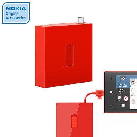 Ładowarka przenośna USB Nokia DC-18 Czerwona (1720 mAh)