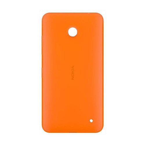 Obudowa Nokia CC-3079 Pomarańczowa (błyszcząca) do Lumia 630 / 635