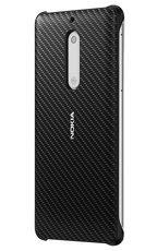 Etui Nokia Carbon Fibre Design Case CC-803 Czarne do Nokia 5