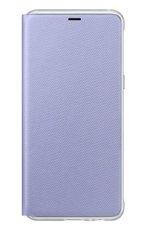 Etui Samsung Neon Flip Cover do Galaxy A8 2018 Fioletowe