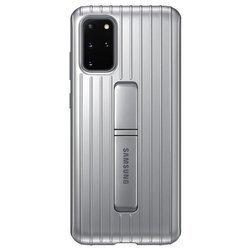 Etui Samsung Protective Standing Cover Srebrny do Galaxy S20+ (EF-RG985CSEGEU)