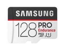 Karta pamięci Samsung PRO Endurance microSDXC 128GB UHS-1 CL10 + adapter (MB-MJ128GA/EU)