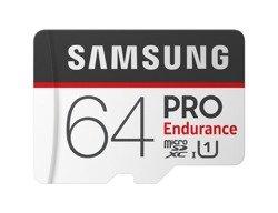 Karta pamięci Samsung PRO Endurance microSDXC 64GB UHS-1 CL10 + adapter (MB-MJ64GA/EU)
