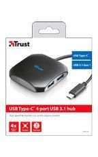 Trust 4 portowy hub USB-C do USB 3.1 Gen 1