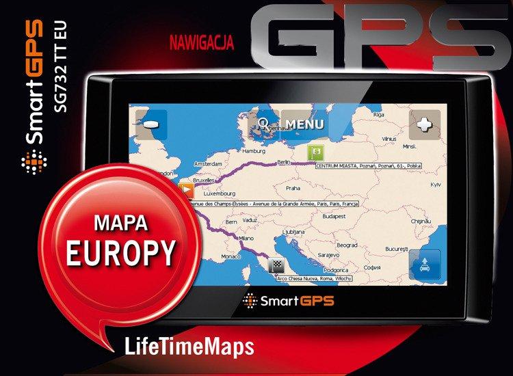 Nawigacja Samochodowa Smartgps Sg732 Tt Eu Ltm Europa 41 Krajow