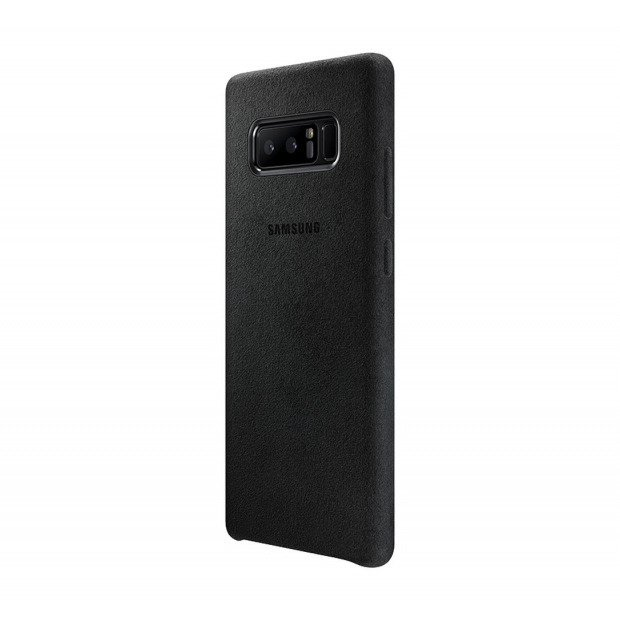 Etui Alcantara Cover do Galaxy Note 8 Czarne (EF-XN950ABEGWW)