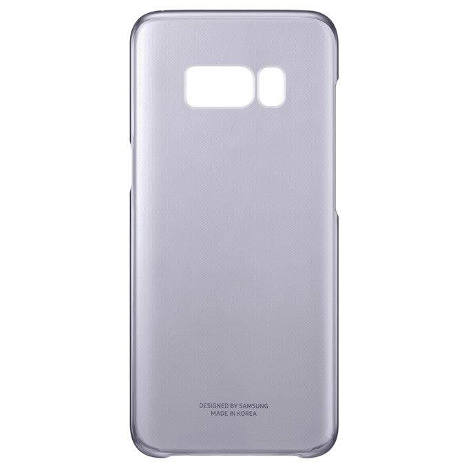 Etui Clear Cover do Galaxy S8 Fioletowe (EF-QG950CVEGWW)