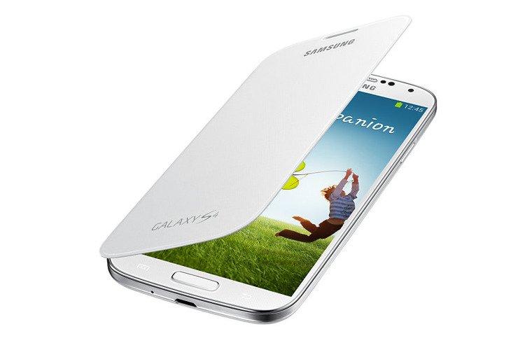 Etui Flip Cover do Samsung Galaxy S4 Białe EF-FI950BWEGWW