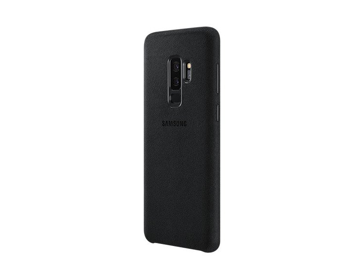 Etui Samsung Alcantara Cover do Galaxy S9+ Czarne EF-XG965ABEGWW