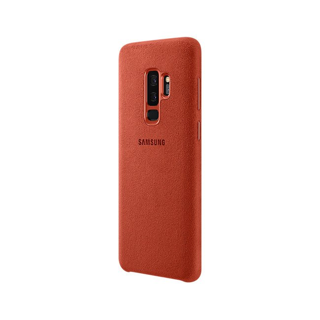 Etui Samsung Alcantara Cover do Galaxy S9+ Czerwone EF-XG965AREGWW