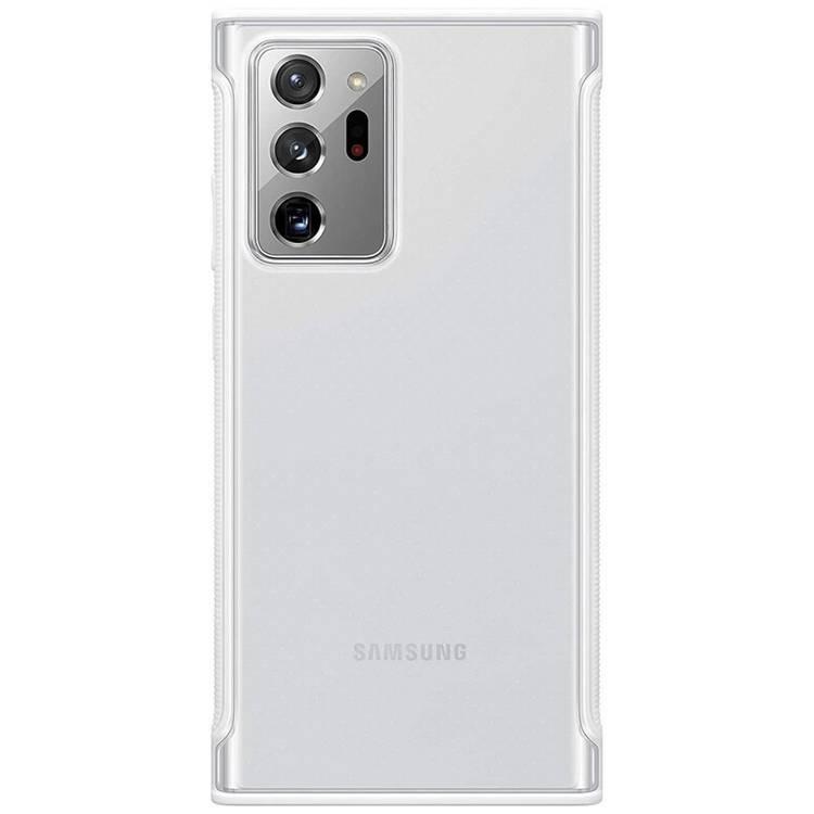 Etui Samsung CLEAR Cover Białe do Galaxy Note 20 Ultra (EF-GN985CWEGEU)