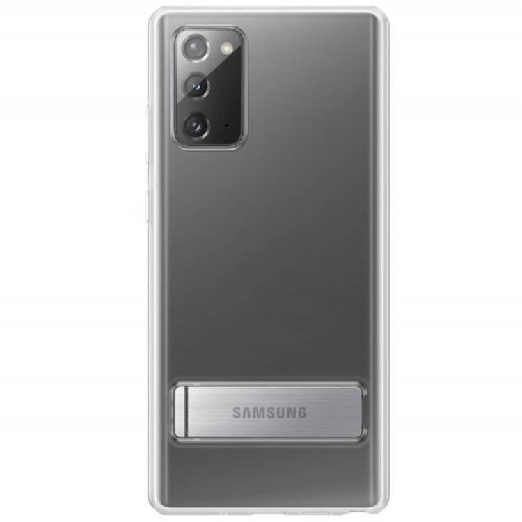 Etui Samsung CLEAR Standing Cover Transparent do Galaxy Note 20 (EF-JN980CTEGEU)