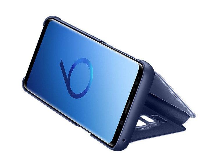 Etui Samsung Clear View Standing Cover do Galaxy S9 Granatowe EF-ZG960CLEGWW