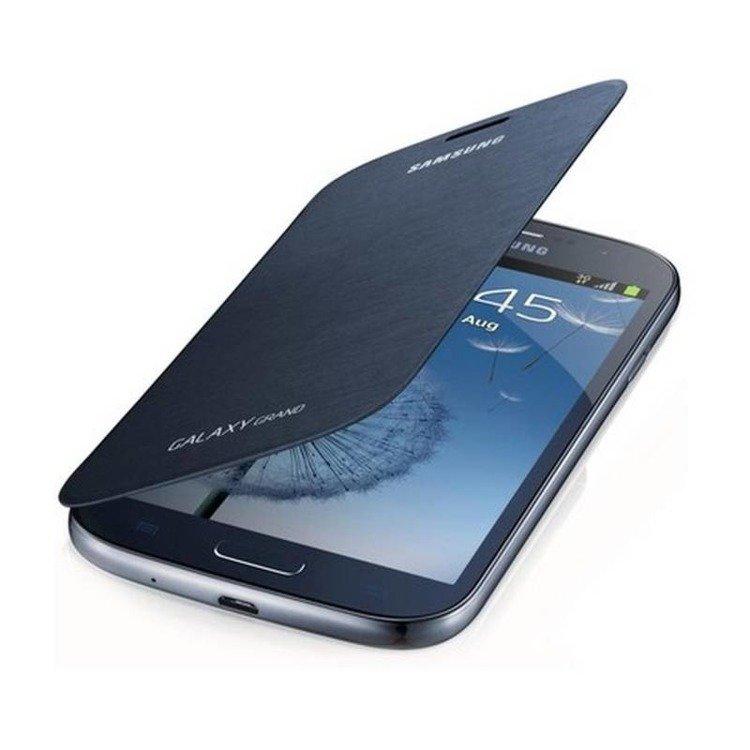 Etui Samsung Flip Cover Niebieskie do Galaxy Grand i9085 / Grand Neo I9060