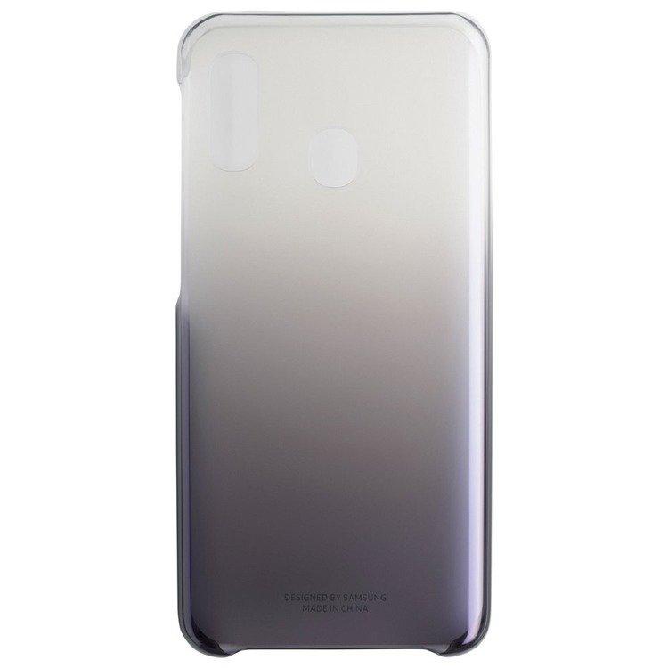 Etui Samsung Gradation Cover Czarne do Galaxy A20e (EF-AA202CBEGWW)