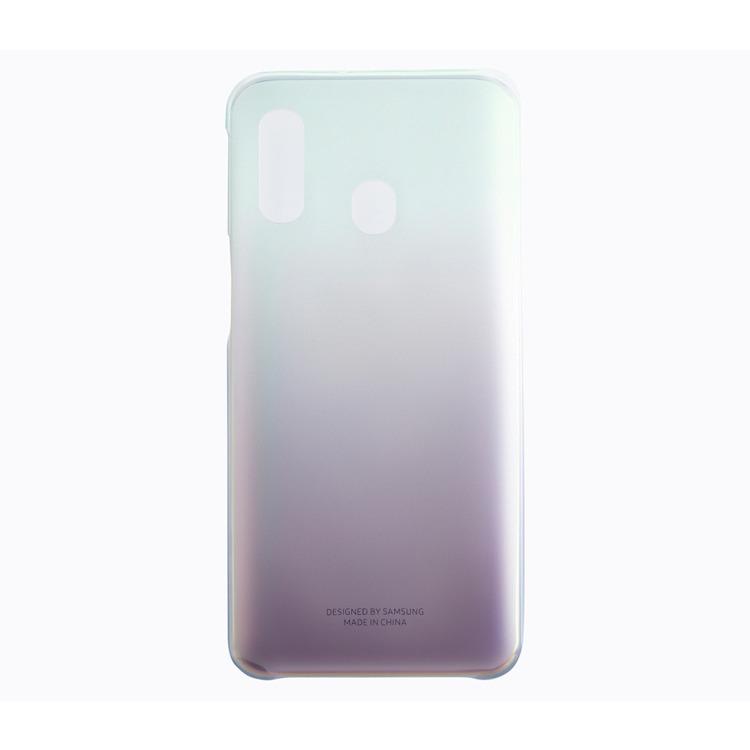 Etui Samsung Gradation Cover Czarne do Galaxy A40 (EF-AA405CBEGWW)