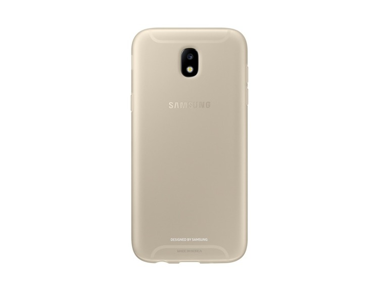 Etui Samsung Jelly Cover Złote do Galaxy J5 (2017) (EF-AJ530TFEGWW)
