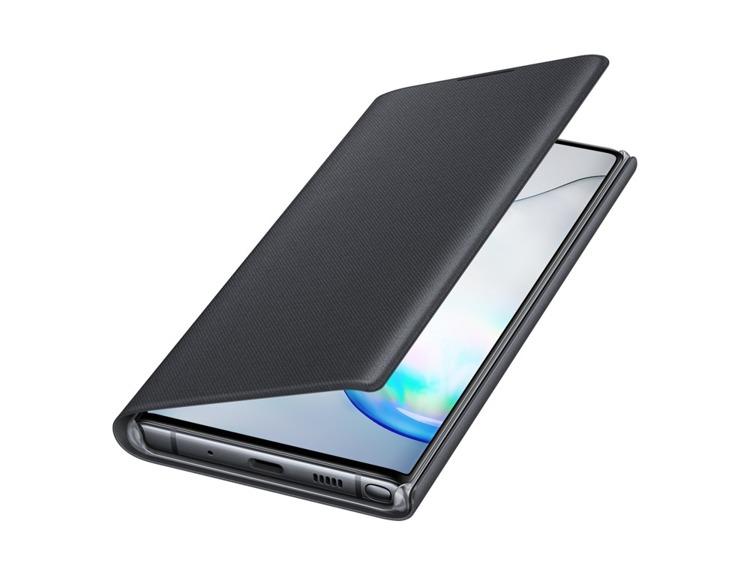 Etui Samsung LED View Cover Czarny do Galaxy Note 10 (EF-NN970PBEGWW)