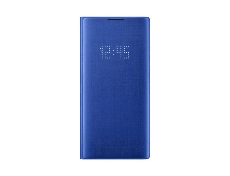 Etui Samsung LED View Cover Niebieskie do Galaxy Note 10+ (EF-NN975PLEGWW)