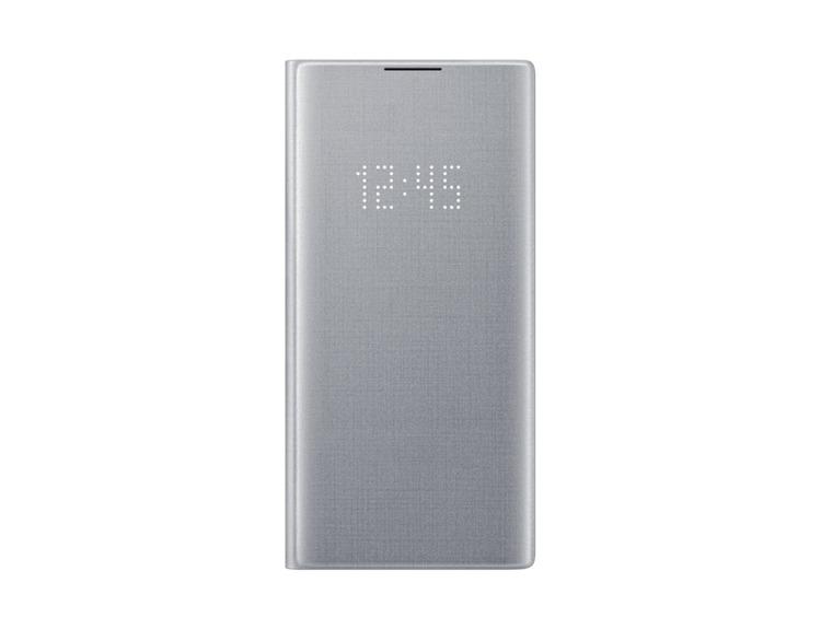 Etui Samsung LED View Cover Srebrny do Galaxy Note 10+ (EF-NN975PSEGWW)