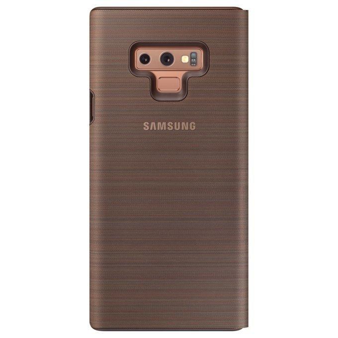 Etui Samsung LED View Cover do Galaxy Note 9 Brązowe (EF-NN960PAEGWW)
