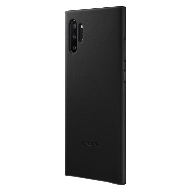 Etui Samsung Leather Cover Czarny do Galaxy Note 10+ (EF-VN975LBEGWW)