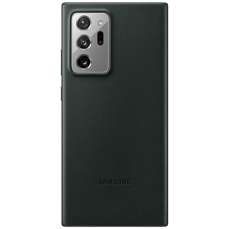 Etui Samsung Leather Cover Zielone do Galaxy Note 20 Ultra (EF-VN985LGEGEU)