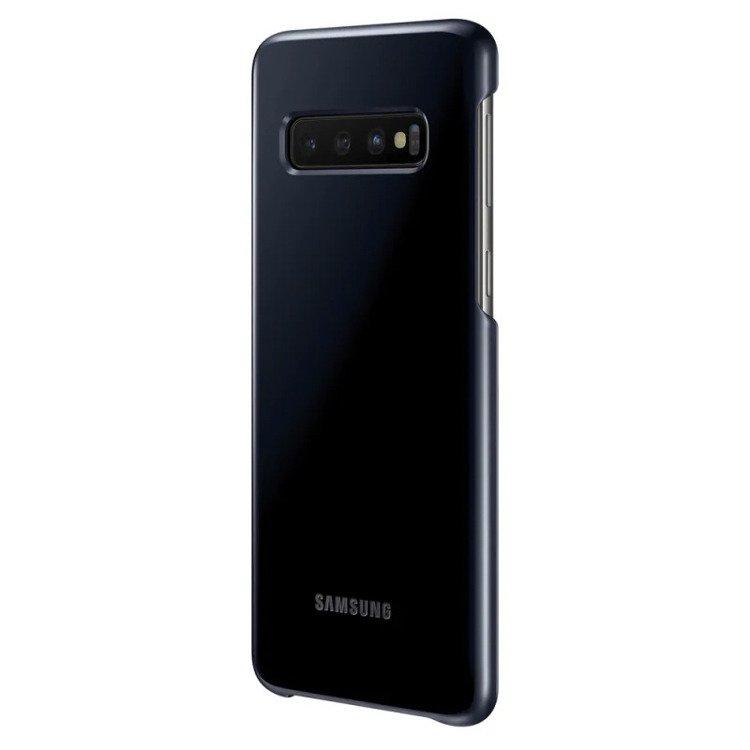 Etui Samsung Led Cover Czarny do Galaxy S10 (EF-KG973CBEGWW)