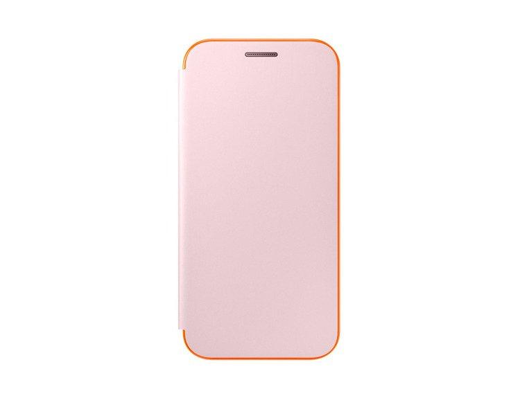 Etui Samsung Neon Flip Cover do Galaxy A3 2017 Różowe EF-FA320PPEGWW