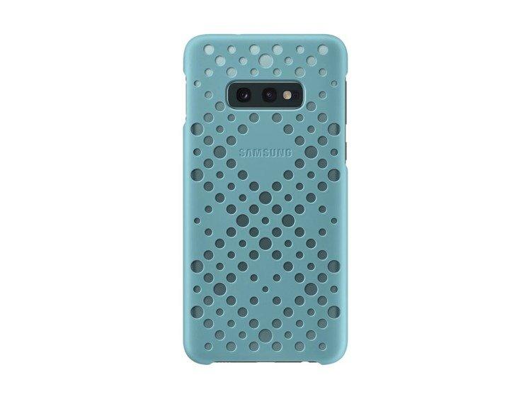 Etui Samsung Pattern Cover Zielony/Czarny do Galaxy S10e (EF-XG970CBEGWW)