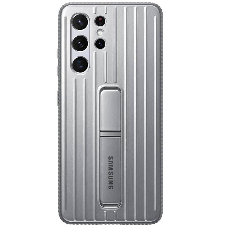Etui Samsung Protective Standing Cover Srebrny do Galaxy S21 Ultra (EF-RG998CJEGWW)