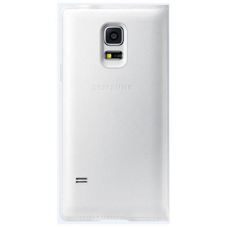 Etui Samsung S View Cover Białe do Galaxy S5 mini EF-CG800BWEGWW