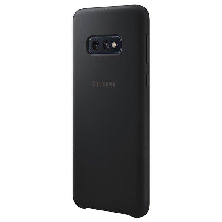 Etui Samsung Silicone Cover Czarny do Galaxy S10e (EF-PG970TBEGWW)