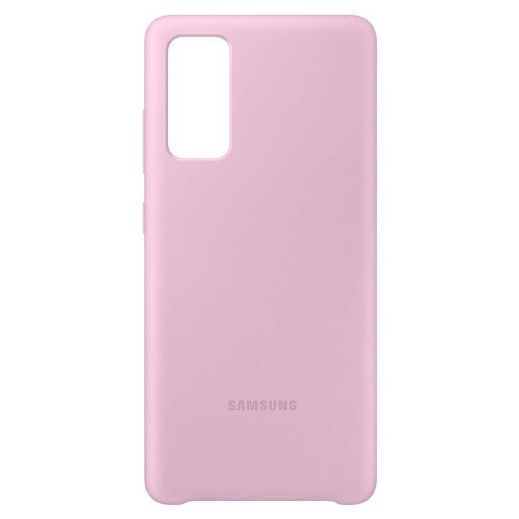 Etui Samsung Silicone Cover Różowy do Galaxy S20 FE / S20 FE 5G (EF-PG780TVEGEU)