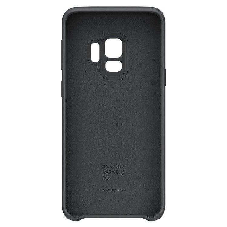 Etui Samsung Silicone Cover do Galaxy S9 Czarne EF-PG960TBEGWW