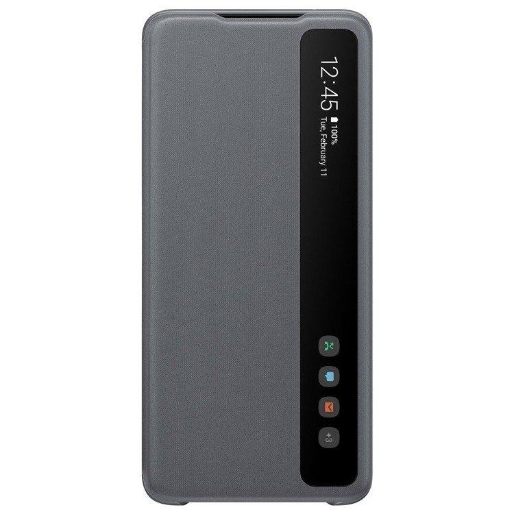 Etui Samsung Smart CLEAR View Cover Szary do Galaxy S20 Ultra (EF-ZG988CJEGEU)