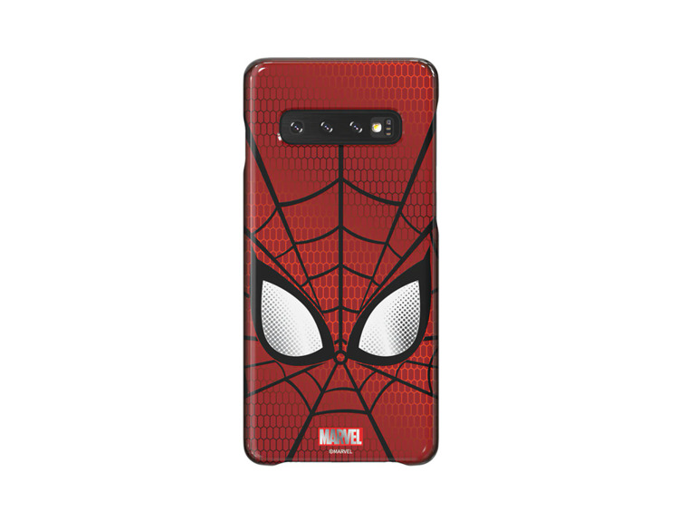 Etui Samsung Smart Cover Spiderman do Galaxy S10+ (GP-G975HIFGHWD)