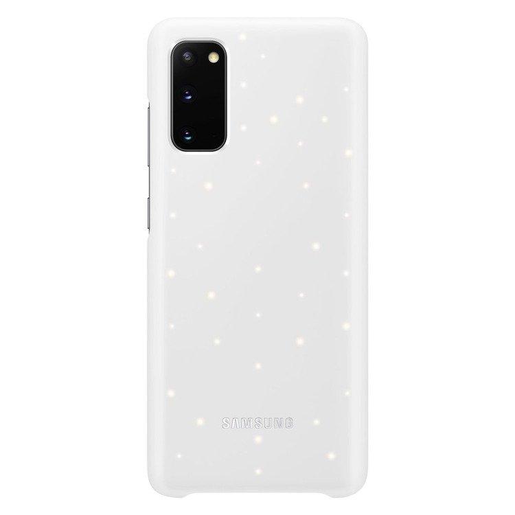 Etui Samsung Smart Led Cover Biały do Galaxy S20 (EF-KG980CWEGEU)