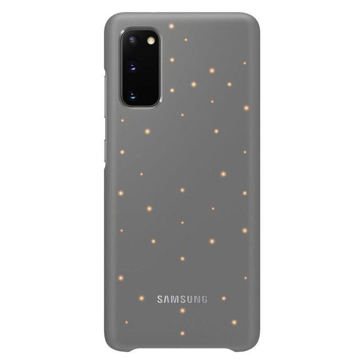 Etui Samsung Smart Led Cover Szary do Galaxy S20 (EF-KG980CJEGEU)