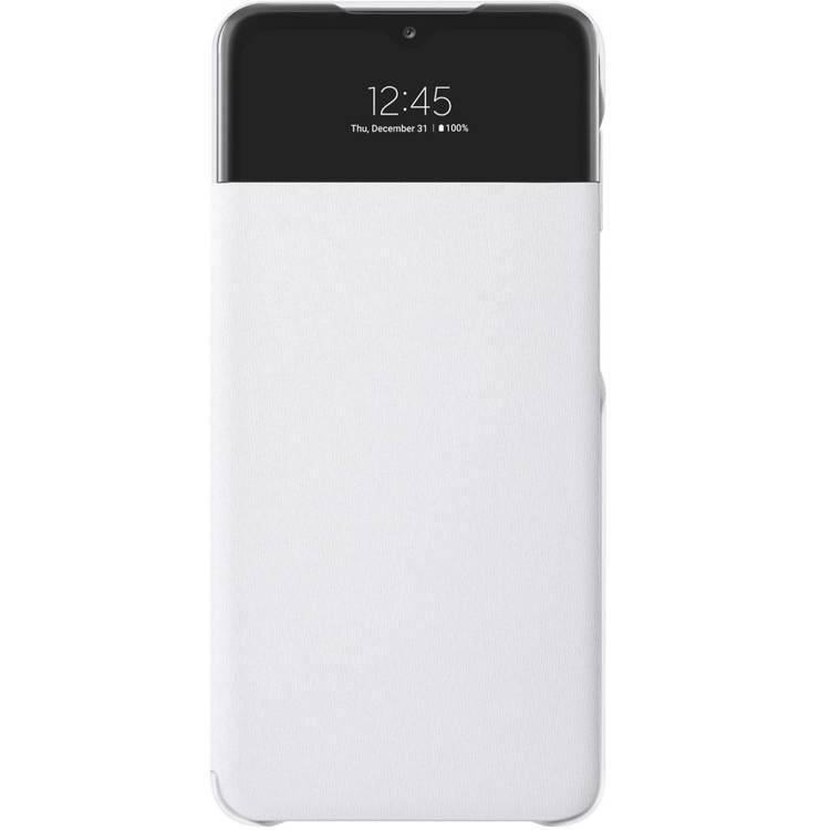 Etui Samsung Smart S View Wallet Cover Białe do Galaxy A32 5G(EF-EA326PWEGEW)
