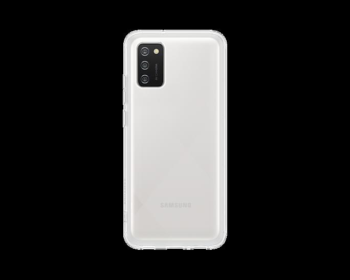 Etui Samsung Soft Clear Cover Transparent do Galaxy A02s (EF-QA026TTEGEU)
