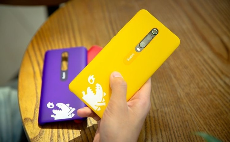 Etui oryginalne Xiaomi Monster Hard Case Purple do Xiaomi Mi 9T fioletowe