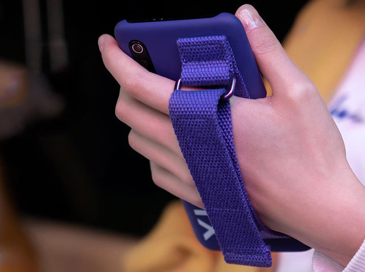 Etui oryginalne Xiaomi Urban Hand Strap Case Black do Xiaomi Mi 9 Czarne