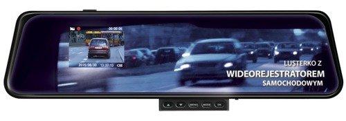 Lusterko z Wideorejestratorem Kamera HD SmartGPS DVR-1001 + Karta pamięci 16GB