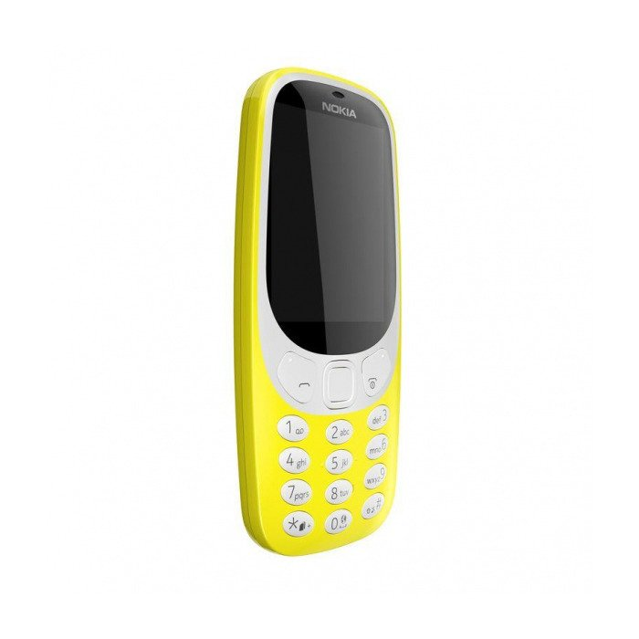 NOKIA 3310 Single SIM Żółta