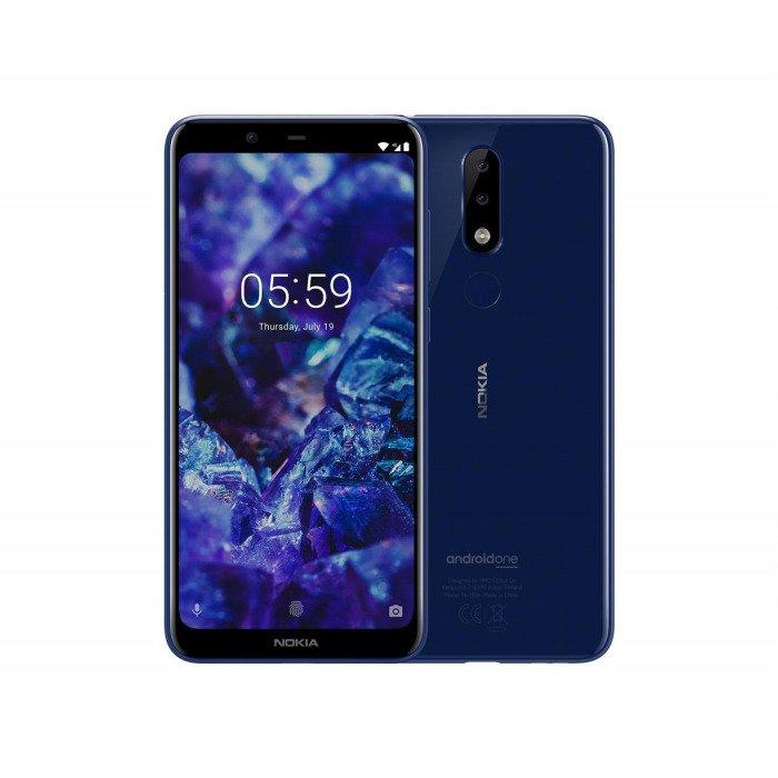 NOKIA 5.1 Plus Dual SIM Niebieska 3/32GB LTE