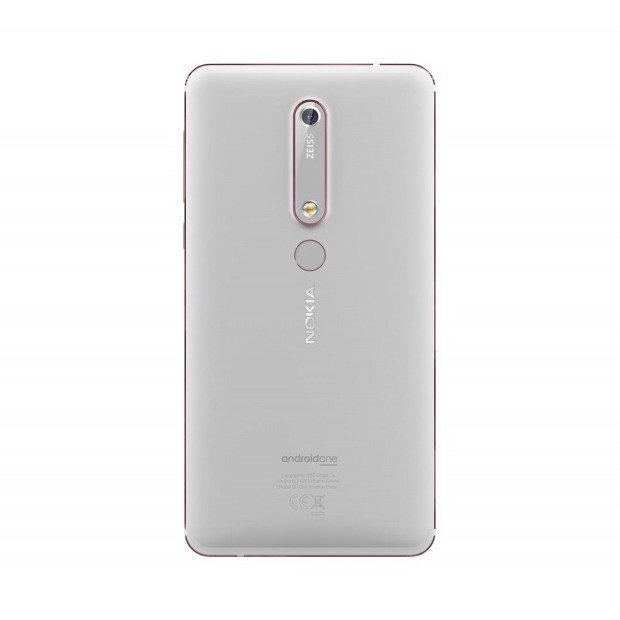 NOKIA 6.1 Dual SIM Srebrna 3/32GB