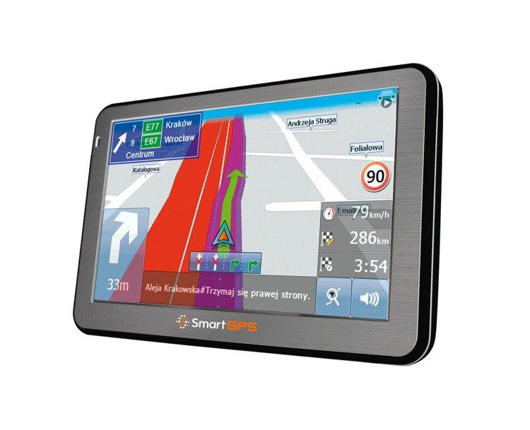 Nawigacja samochodowa SmartGPS SG750 CAM EU