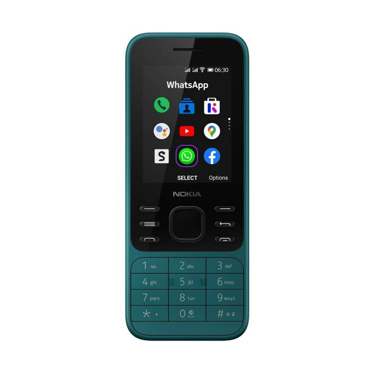 Nokia 6300 4G Dual Sim Cyan